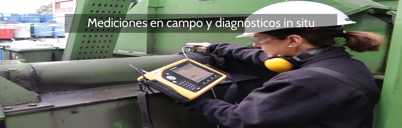 Mediciones en campo y diagnósticos in situ