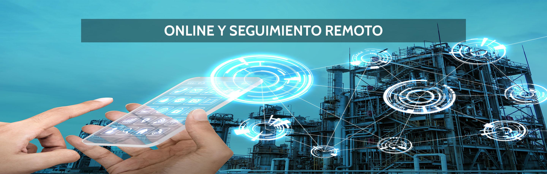 Online y seguimiento remoto